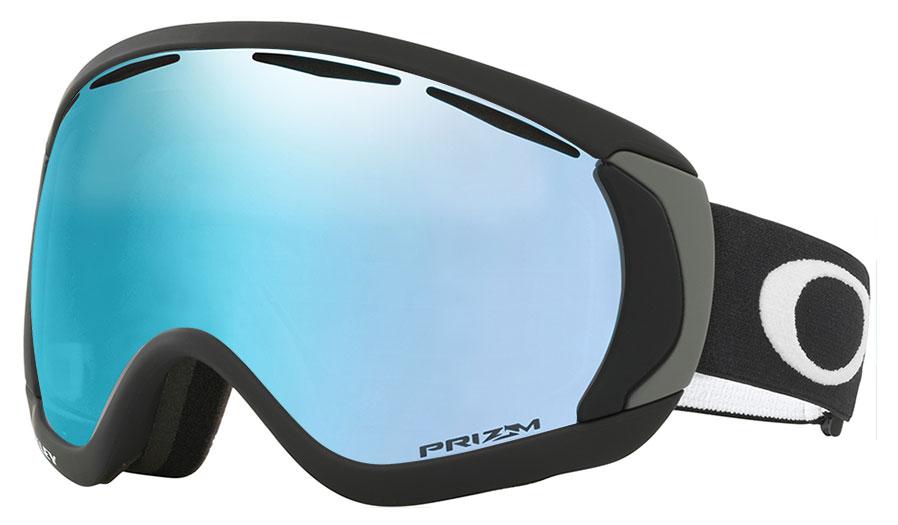 27758880f0 Oakley Canopy Ski Goggles - Matte Black   Prizm Sapphire Iridium ...