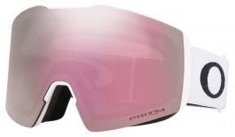Oakley Fall Line XL Ski Goggles - Matte White / Prizm HI Pink Iridium
