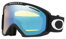 Oakley O Frame 2.0 Pro XL Prescription Ski Goggles - Matte Black / HI Yellow Iridium + Dark Grey