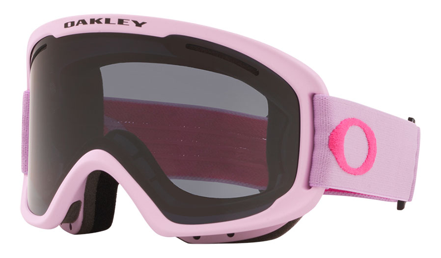 Oakley O Frame 2.0 Pro XM Ski Goggles - Lavender Rubine / Dark Grey + Persimmon