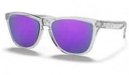 Oakley Frogskins Sunglasses - Polished Clear / Prizm Violet