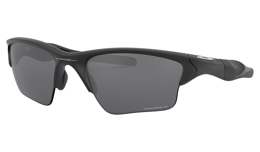 Oakley Half Jacket 2.0 XL Sunglasses - Matte Black / Prizm Black Polarised