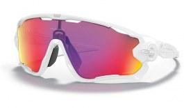 Oakley Jawbreaker Sunglasses - Matte White / Prizm Road