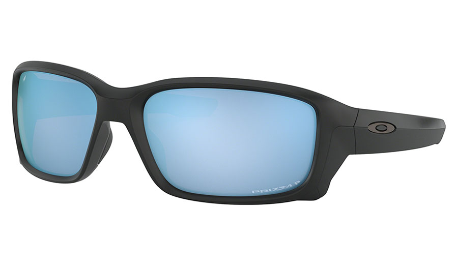 Oakley Straightlink Sunglasses - Matte Black / Prizm Deep Water Polarised