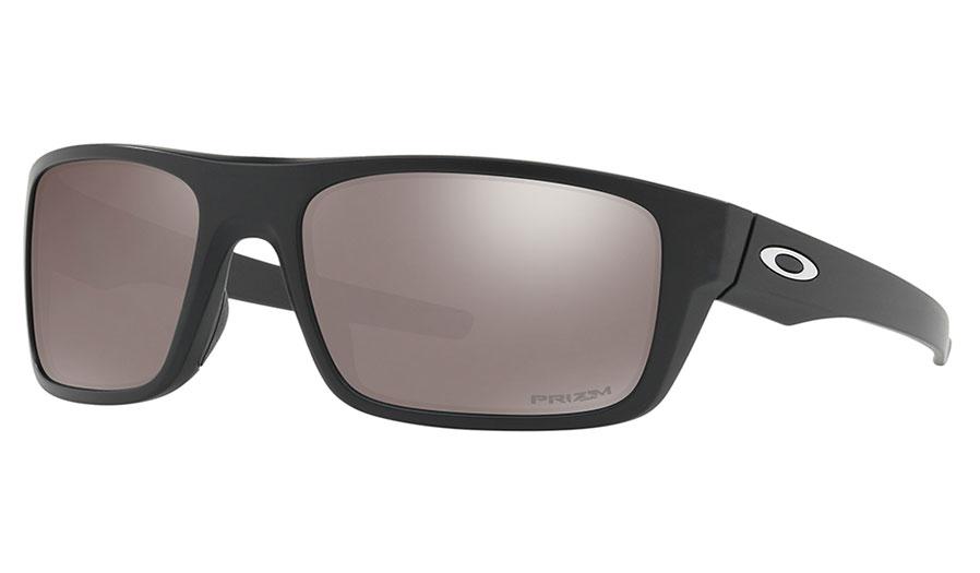 Oakley Drop Point Sunglasses - Matte Black / Prizm Black Polarised