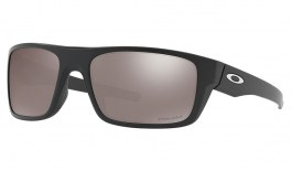 Oakley Drop Point Sunglasses - Matte Black / Prizm Black Polarised
