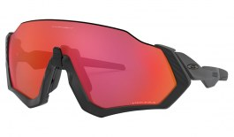 Oakley Flight Jacket Sunglasses - Matte Black / Prizm Trail Torch