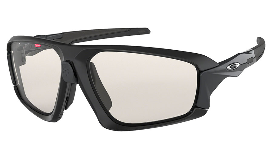 15f3ee2959560 1. 2. 3. 4. PrevNext. Oakley Field Jacket Sunglasses - Matte Black   Clear  Black Iridium Photochromic