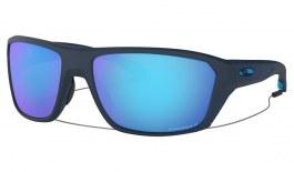 Oakley Split Shot Sunglasses - Matte Trans Blue / Prizm Sapphire Polarised