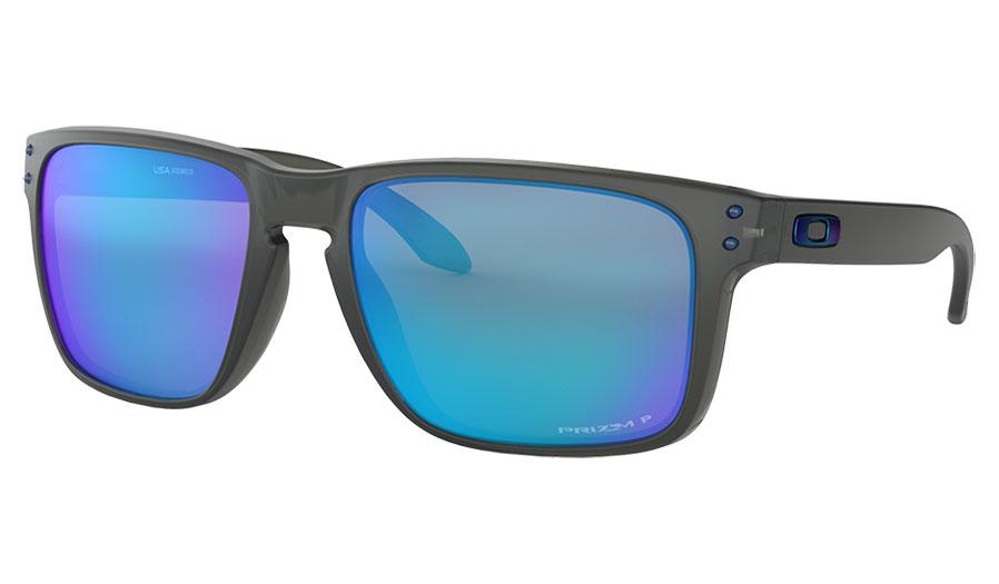 8f2361d4c9 Oakley Holbrook XL Sunglasses - Grey Smoke   Prizm Sapphire ...