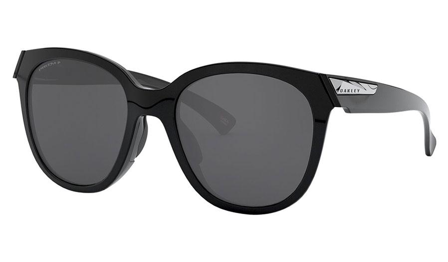 Oakley Low Key Sunglasses - Polished Black / Prizm Black Polarised
