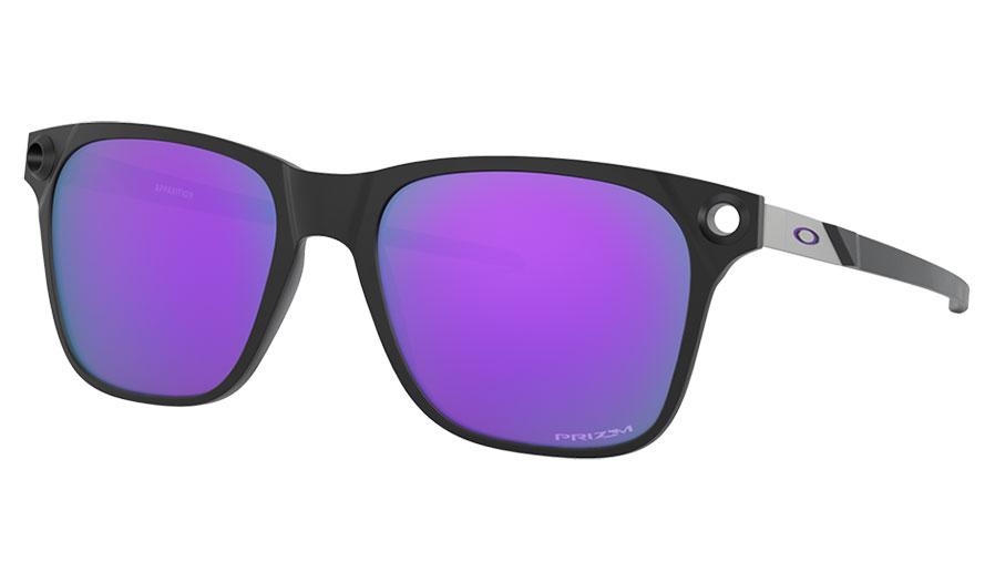 Oakley Apparition Sunglasses - Satin Black / Prizm Violet