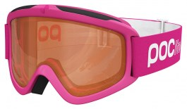 POC POCito Iris Ski Goggle - Fluorescent Pink / Sonar Orange