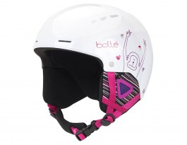 Bolle Quiz Ski Helmet - Shiny White Monkey
