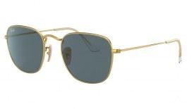 Ray-Ban RB3857 Frank Sunglasses - Legend Gold / Blue