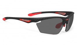 Rudy Project Stratofly Prescription Sunglasses - ImpactRX Directly Glazed - Carbonium & Red