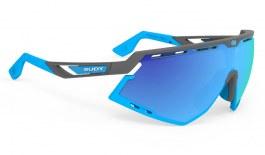 Rudy Project Defender Sunglasses - Matte Pyombo & Azure / Multilaser Blue