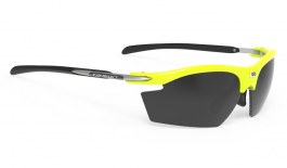 Rudy Project Rydon Prescription Sunglasses - Clip-On Insert - Gloss Fluo Yellow / Smoke Black