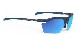 Rudy Project Rydon Slim Prescription Sunglasses - Clip-On Insert - Matte Navy Blue / Multilaser Blue