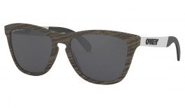 Oakley Frogskins Mix Sunglasses - Woodgrain / Prizm Black Polarised