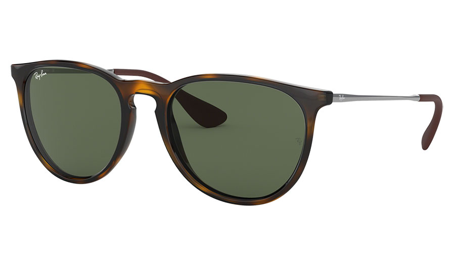 Ray-Ban RB4171 Erika Sunglasses - Tortoise / Green