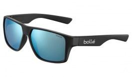 Bolle Brecken Sunglasses - Matte Black / TNS Ice