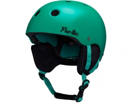 Protec Classic Snow Women's Ski Helmet - Pop Emerald
