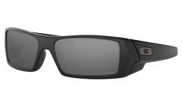 Oakley Gascan Sunglasses - Matte Black / Black Iridium Polarised