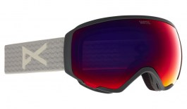 Anon WM1 MFI Ski Goggles - Gray / Perceive Sunny Red + Perceive Cloudy Burst