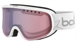 Bolle Scarlett Ski Goggles - Shiny White Edelweiss / Modulator 2.0 Light Control Polarised Photochromic