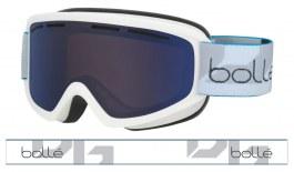Bolle Schuss Ski Goggles - Matte White / Bronze Blue
