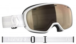 Scott Muse Pro Ski Goggles - White / Light Sensitive Bronze Chrome Photochromic