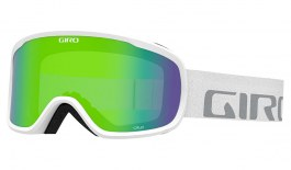 Giro Cruz Prescription Ski Goggles - White Wordmark / Loden Green