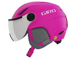 Giro Buzz MIPS Ski Helmet - Matte Bright Pink / Silver Mirror