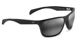 Maui Jim Makoa Sunglasses - Gloss Black / Neutral Grey Polarised