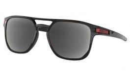 Oakley Latch Beta Prescription Sunglasses - Polished Black (Red Icon)