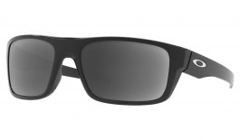 Oakley Drop Point Prescription Sunglasses - Polished Black