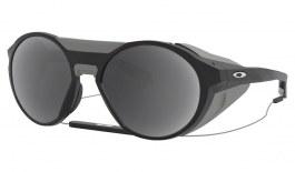 Oakley Clifden Prescription Sunglasses - Matte Black (Grey Side Shields)