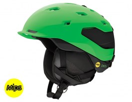 Smith Quantum MIPS Ski Helmet - Matte Reactor Black
