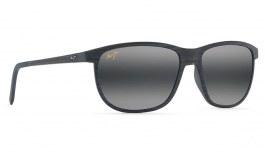 Maui Jim Dragon's Teeth Prescription Sunglasses - Dark Navy Stripe