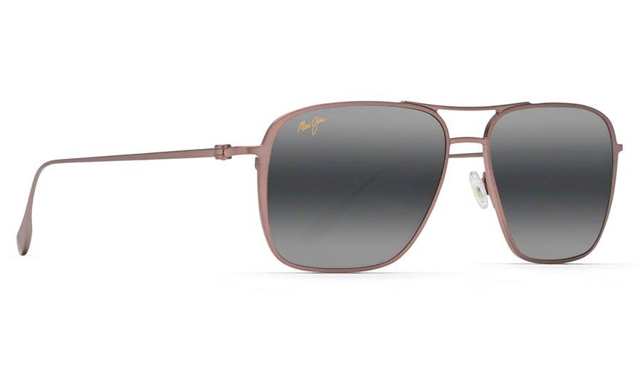 Maui Jim Beaches Prescription Sunglasses - Satin Brown Red