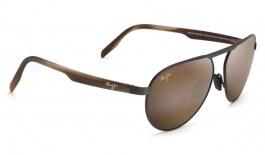 Maui Jim Swinging Bridges Sunglasses - Brushed Chocolate / HCL Bronze Polarised
