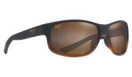 Maui Jim Kaiwi Channel Sunglasses - Dark Brown Stripe / HCL Bronze Polarised