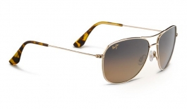 Maui Jim Cliff House Sunglasses - Gold / HCL Bronze Polarised