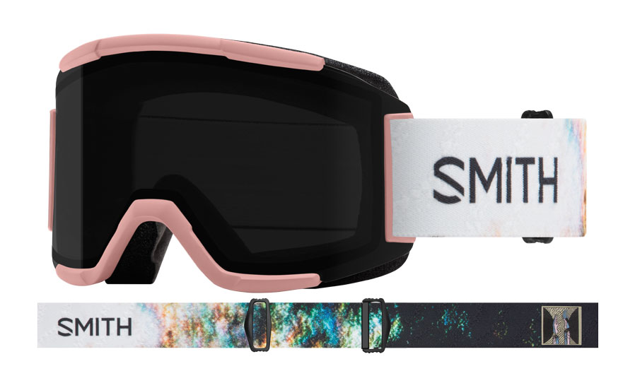 Smith Squad Ski Goggles - AC Desiree Melancon / ChromaPop Sun Black + Yellow