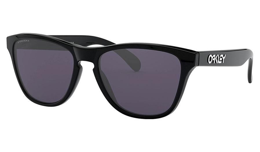 Oakley Frogskins XS Sunglasses - Polished Black / Prizm Grey
