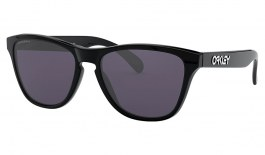 Oakley Frogskins XS Sunglasses - Polished Black / Prizm Grey