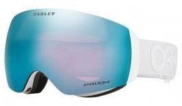 Oakley Flight Deck XM Ski Goggles - Factory Pilot Whiteout / Prizm Sapphire Iridium