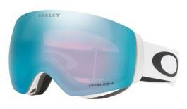 Oakley Flight Deck XM Ski Goggles - Matte White / Prizm Sapphire Iridium