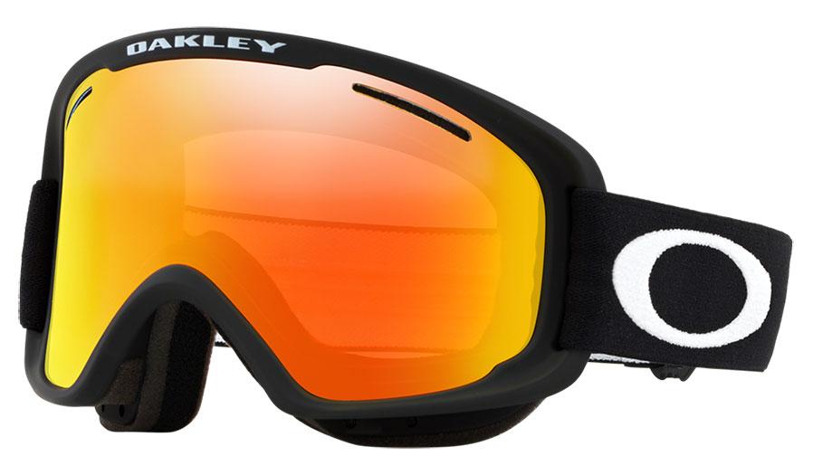 Oakley O Frame 2.0 Pro XM Ski Goggles - Matte Black / Fire Iridium + Persimmon
